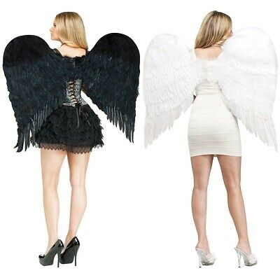 Angel Wings Adult Halloween Costume Fancy Dress