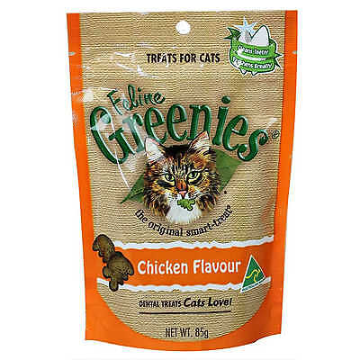 Greenies Feline Dental Treats Ocean Fish Flavour for Cats Food 85g
