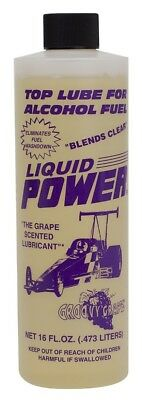 Power Plus Grape Scented Top End Methanol Fuel Lube Drag Race Sprint Car IMCA