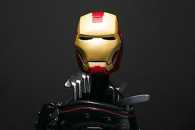 Custom Made Hand Painted Iron Man MK-III Golf Driver Headcover 460cc