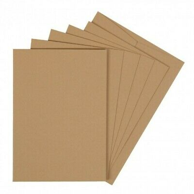 50 Blank Kraft A6 Cards and Envelopes 240gsm