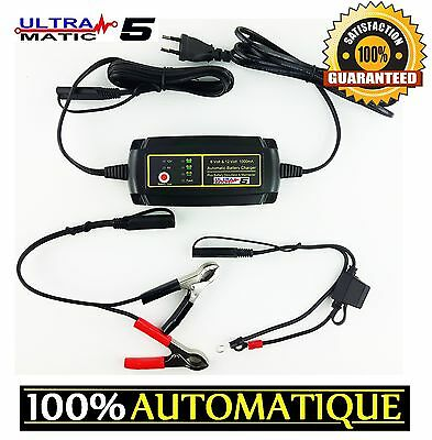 Chargeur Batterie Moto Ultra Chargeur Le Plus Performant Alternative Optimate