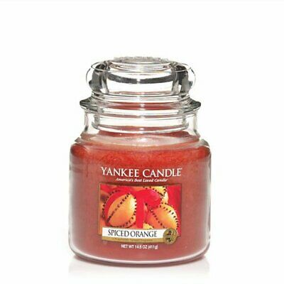 Yankee Candle Candela Giara Media Spiced Orange