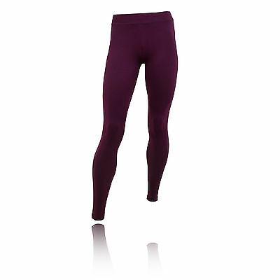 Puma Essential Womens Purple Running Work Out Sports Tights Bottoms Pants