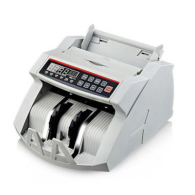Portable 110/220V Note Currency Counter Bill Money Cash Counting Machine Tools