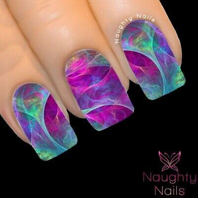 Mystic ORACLE COLLECTION Full Cover Nail Water Transfer Decal Sticker Art Tattoo