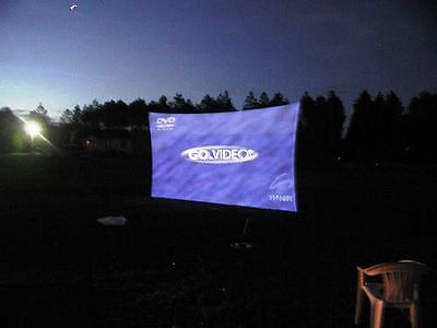 "Projection Screen, Dj Stretch Screen, Front / Rear, 144"" X 72"" (12' X 6'), Vj/Dj"