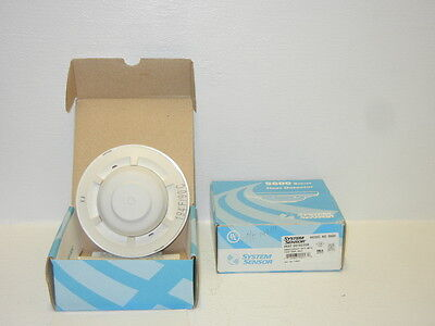 Lot Of 2 System Sensor 5604 New Fixed Temperature Heat Detectors 5604