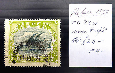 PAPUA 1927 - ½d As Described NEW LOWER PRICE FP6839