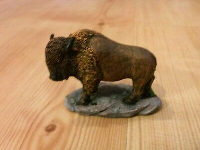 Resin Gorgeous Buffalo Statue/Figurine South Dakota with map