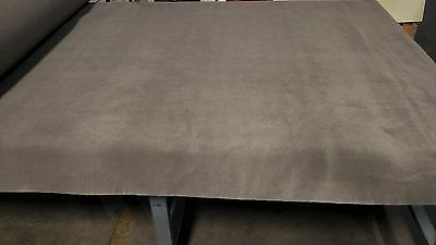 "2 Yards Med. Dk Pewter Automotive Carpet Upholstery Auto Pro Flexible 80""W 18 Oz"