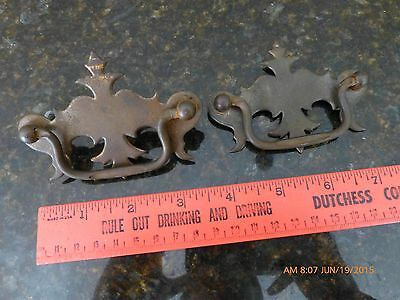 Vintage Draw pulls antique lot of 2