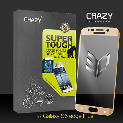 Full Coverage Tempered Glass Screen Protector for Samsung Galaxy S6 Edge Plus