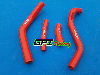 Red For Yamaha YZ450F YZF450 YZ 450 F 14 15 2014 2015 Silicone Radiator Hose