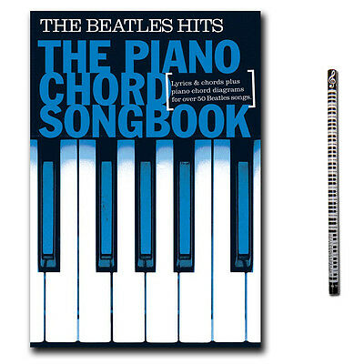 The Beatles Hits, Piano Chord Songbook - Klavier Noten - NO91520 - 9781849389686