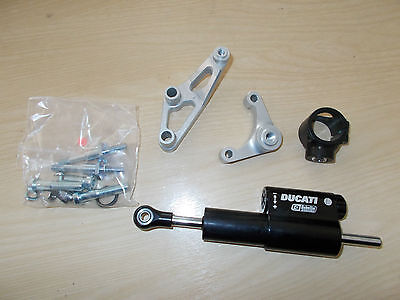 New Genuine Ducati Hypermotard 1100 Steering Damper Kit 96760408B