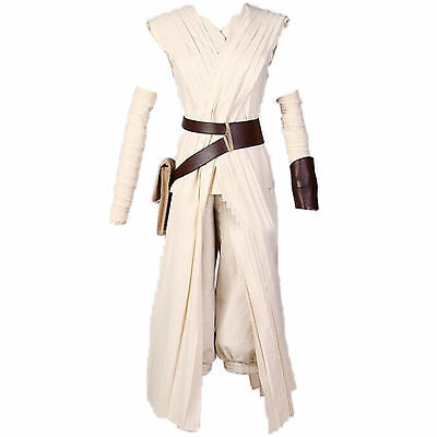 Damen Star Wars Rey Force Awakens Kostüme Cosplay Kostüm Für Halloween Kleidung