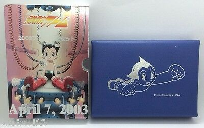 "The Birth of ""ASTRO BOY"" 2003 Proof Coin Set Japan Mint inc. SILVER Medallion"