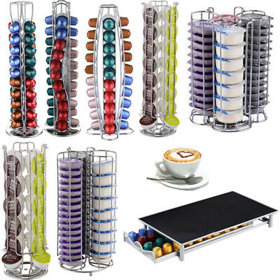 24/32 Coffee Pod Revolving Holder Rack Tower Capsule Stand For Dolce Gusto Hot