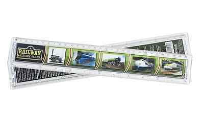 Railway History Ruler - 30cm - 12 inches