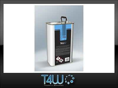 T4W TVU Universal Thinner solvent for automotive refinish coatings / 5L