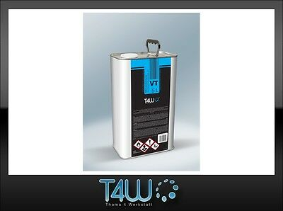 T4W VT Nitro thinner solvent cleaner paint remover metal can / 5L