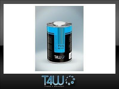 T4W TVS Base thinner solvent for silver metalllic basecoats paints / 1L