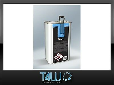 T4W TVB Base thinner solvent for automotive refinish base coats / 5L