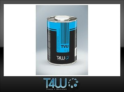 T4W TVU Universal Thinner solvent for automotive refinish coatings / 1L