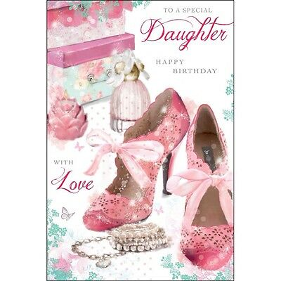 Daughter Birthday Card Happy Luxury Nice Verse