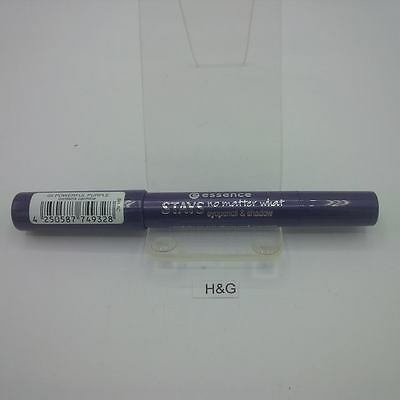 Essence 02 Powerful Purple Contains Carmine Lidschattanstift Kajalsitft Lila Neu