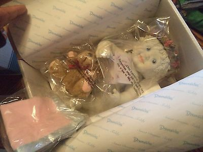 Dreamsicles  Doll Sweet Dreams Teddy  New In Box Hard To Find