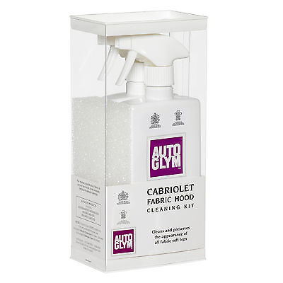 Autoglym Cabriolet Fabric Hood Cleaner Soft top Roof Restorer Reviver Kit