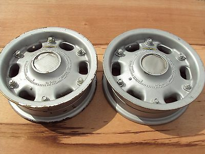 Vintage Aircraft Rims Good Year