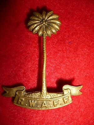 The Royal West African Frontier Force Regiment Cap Badge - British Colonial