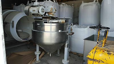 Groen Kettle Model RA 100 Gallon Steam Jacketed Mixing