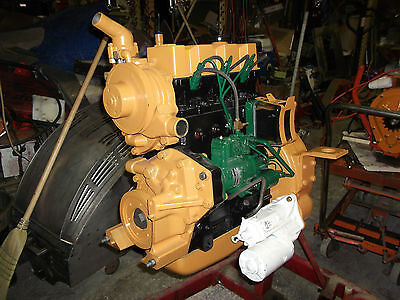 Case 1835 Continental Tmd 20 Rebuilt Diesel Engine Complete Assembly