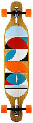 LOADED - Dervish Sama 2015 Longboard complete Flex 3 - 80a Orange Wheels