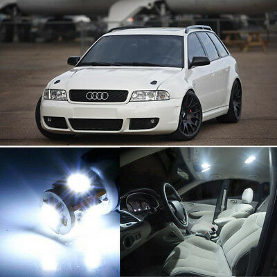 18×Interior LED Light Kit Error Free for Audi A4 S4 B5 SEDAN AVANT 1996-2002