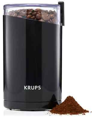 Electric Spice and Coffee Grinder with Stainless Steel Blades, 3-Ounce, Black