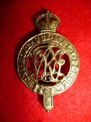 2nd Queen Victoria's Own Sappers & MIners Cap Badge - British Colonial