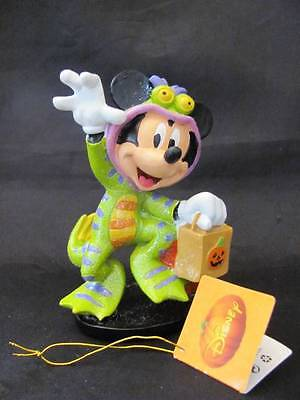 Disney Mickey Mouse Halloween Trick or Treat Figurine New w/ Tags  FREE SHIPPING