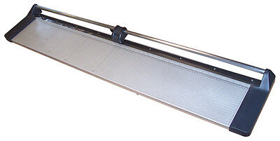 """New 47"""" Manual Rotary Paper Cutter Trimmer Wide Format + 1 spare blade"""