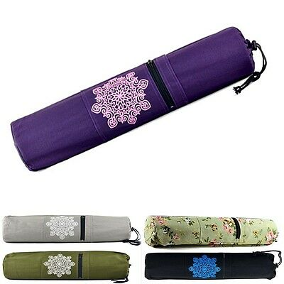 Yoga Mat Bag Adjustable Strap Pilates Carrier Shoulder Bags Travel Tote Gym New