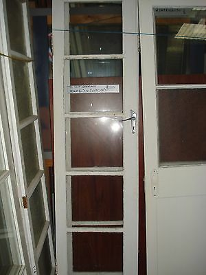 Assorted 5 Pane Clear Glass White French Doors