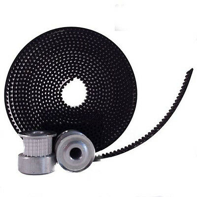 3D Printer GT2 6mm Timing Belts and 20 tooth 5mm Bore Shaft Timing Pulleys