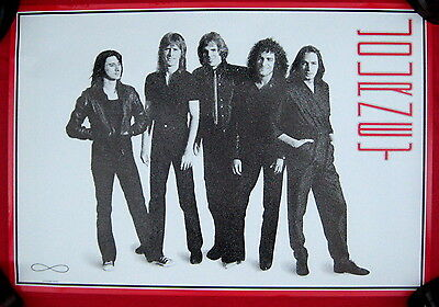 Journey 1981 OFFICIAL poster mint condition red border