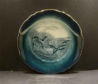 Buffalo Pottery Wild Ducks Plate - MINT