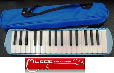 MELODICA 32KEY With Soft Bag Blue $34.95
