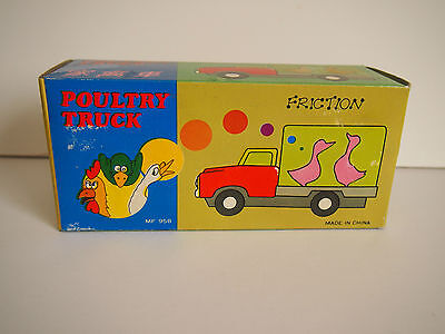 Friction Poultry Truck Mf 958 Vhtf Includes Box
